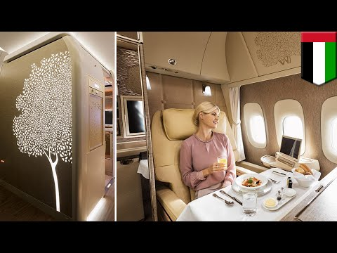 Luxury first class: Emirates unveils state-of-the-art cabins for Boeing 777 fleet - TomoNews