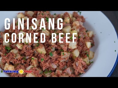 How To Cook Ginisang Corned Beef
