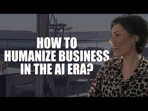 How To Humanize Business In Artificial Intelligence And VR Era? | Via News Interview 022
