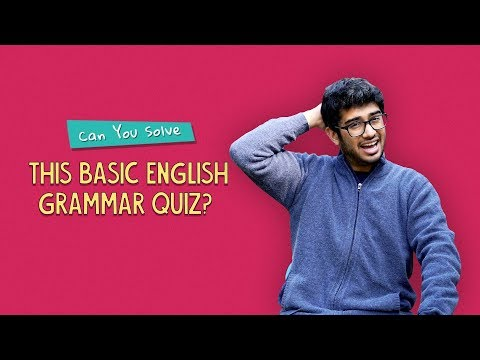 Can You Solve This Basic English Grammar Quiz? | Ft. Pavitra & Sonali | Ok Tested