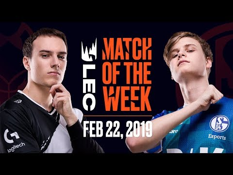 #LEC Match of the Week | G2 Esports vs Schalke 04 | Friday 22nd