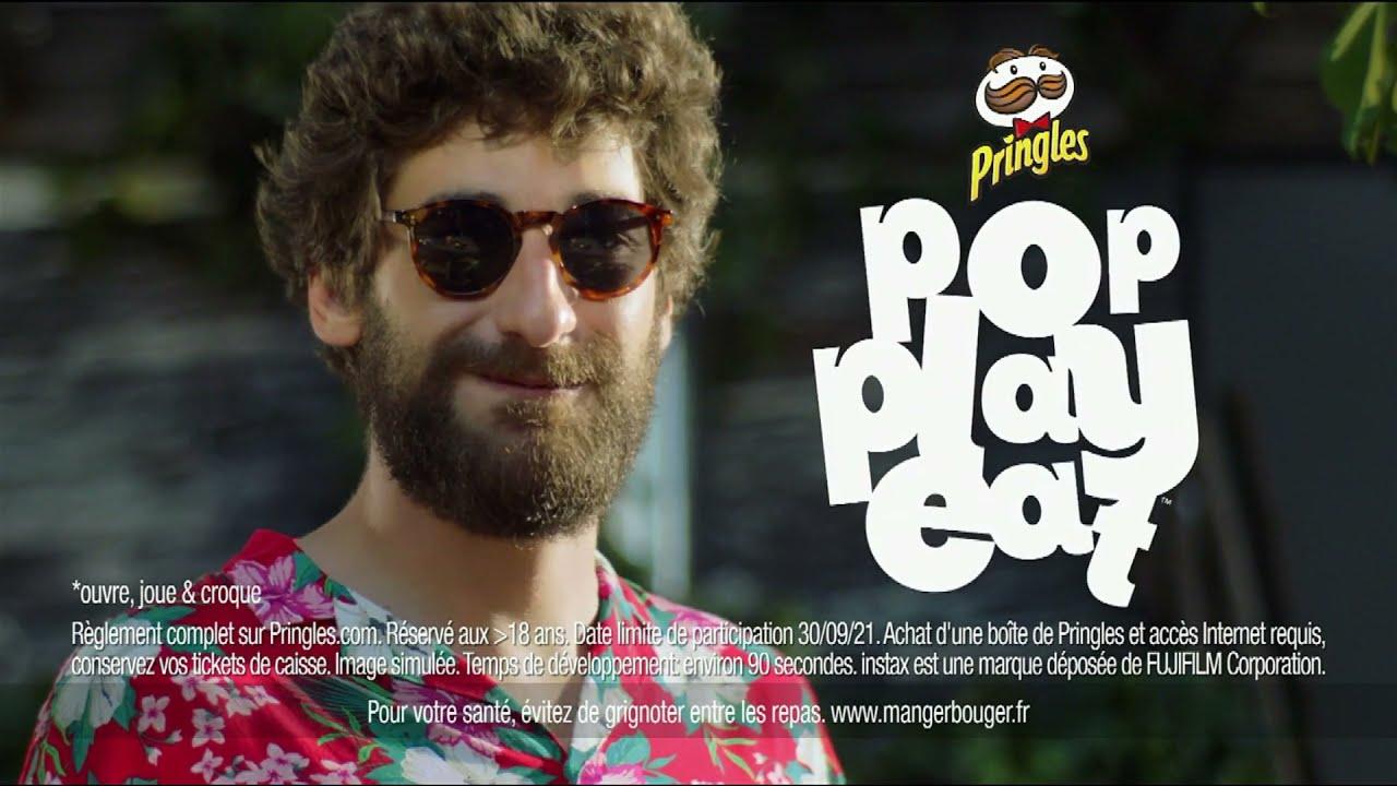 "Musique de la pub Pringles ""pop play eat""  Juillet 2021"