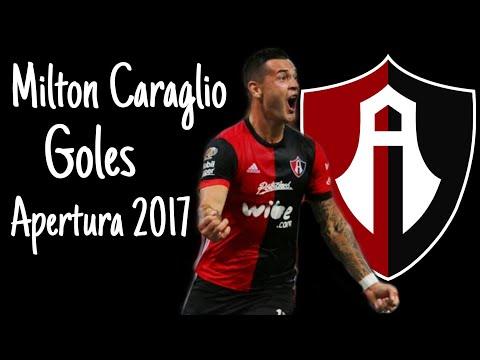 Milton Caraglio   Goles   Atlas FC   Apertura 2017