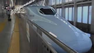 九州新幹線みずほ601号・博多駅を発車