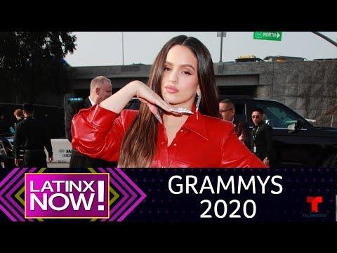 Grammys 2020: Latinos que brillaron en la alfombra roja | @Latinx Now! | Entretenimiento