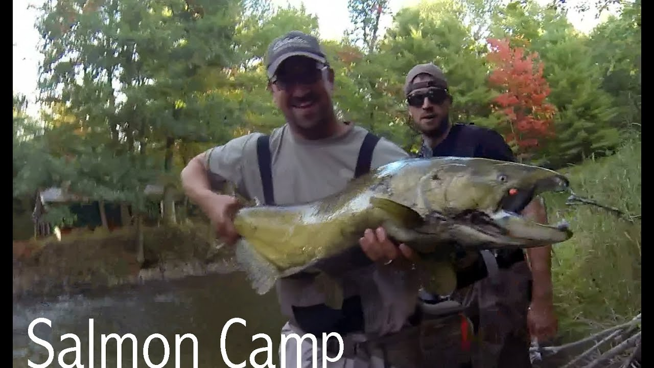 Salmon Camp: Fly Fishing Pere Marquette River in Michigan