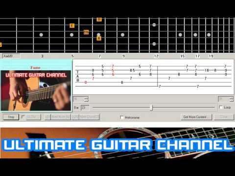 [Guitar Solo Tab] Fame (Irene Cara)