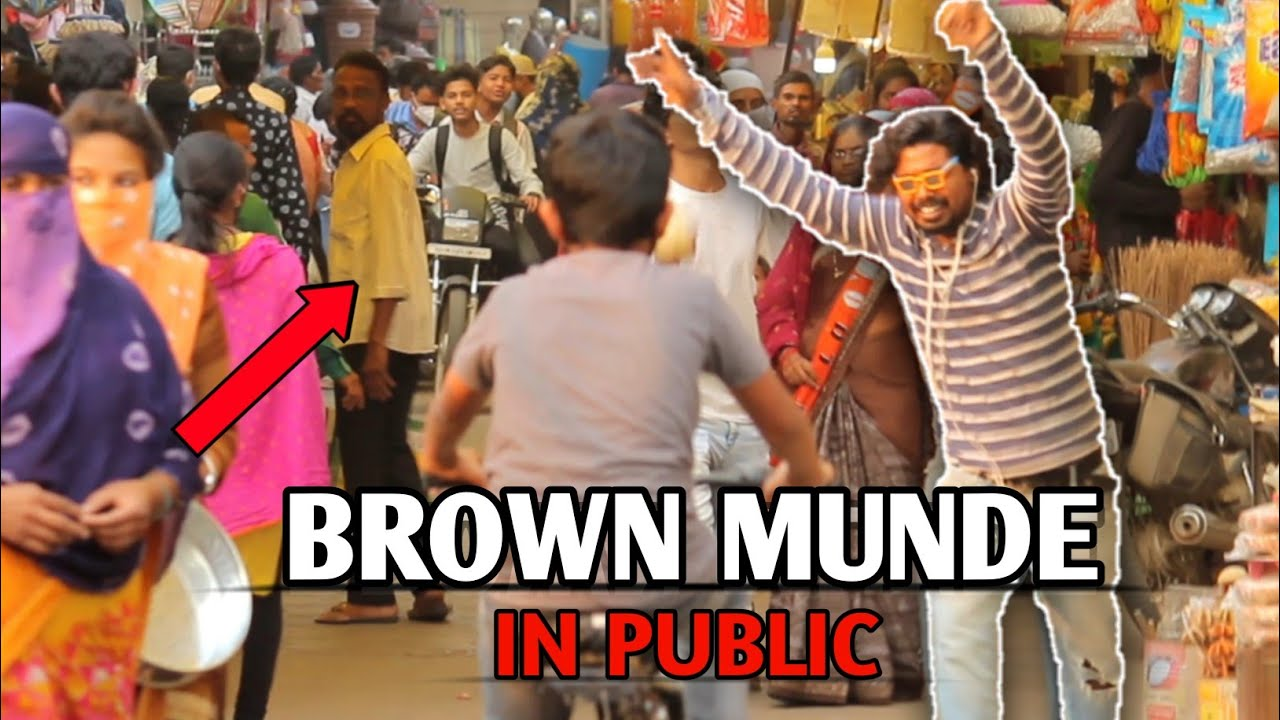 Brown Munde In Public   Epic Reaction   PVprankTV