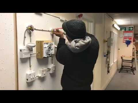 Day 3 on the Domestic Installer Electrical Course