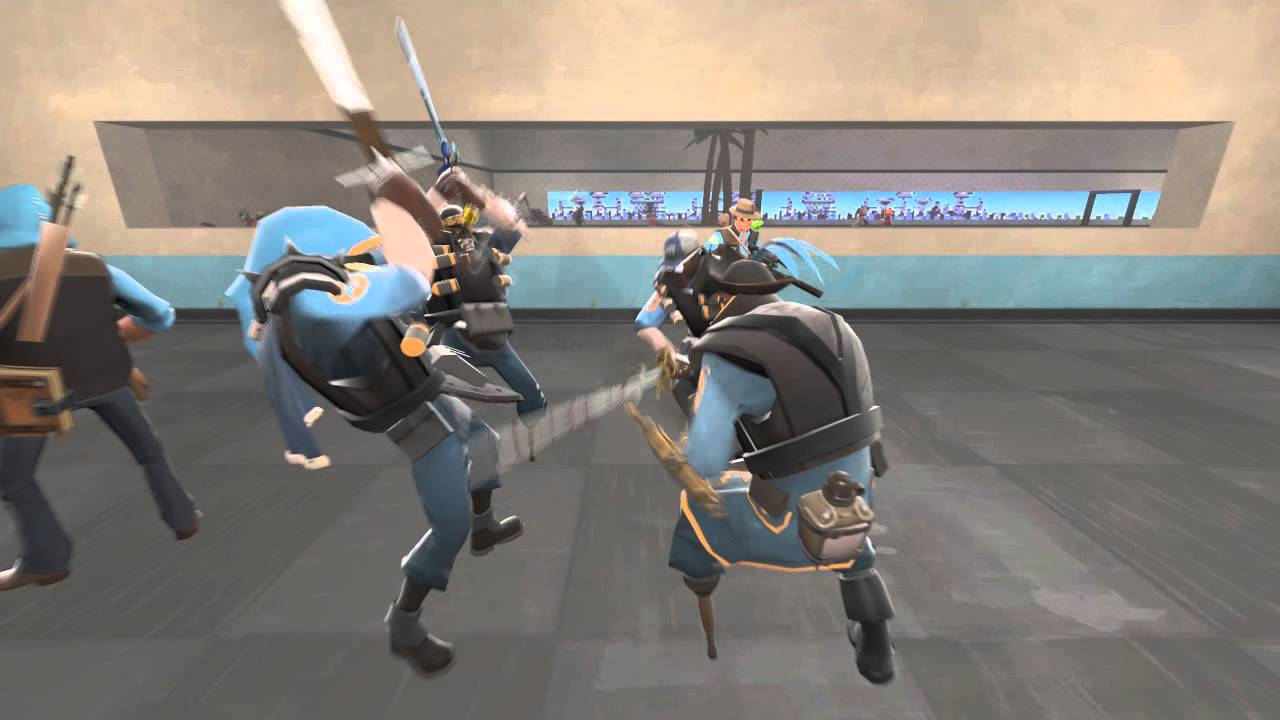 TF2: Just another day on trade_plaza