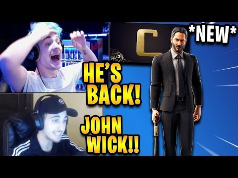 Nard - John Wick Coming To Fortnite