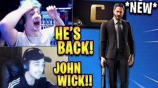 Streamers React to 'NEW' JOHN WICK Skin Coming to Fortnite! Faits saillants de Fortnite