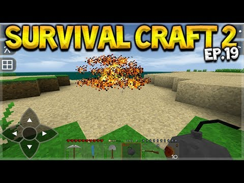 Survival Craft 2 - WE CRAFTED EXPLOSIVE BOMBS! & SHARK SHOOTING! Let's Play (19)