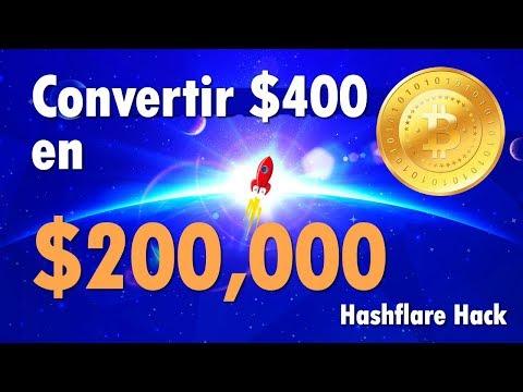 Bitcoin Mining Español | Convertir $400 en $200,000 (HACK 2018)
