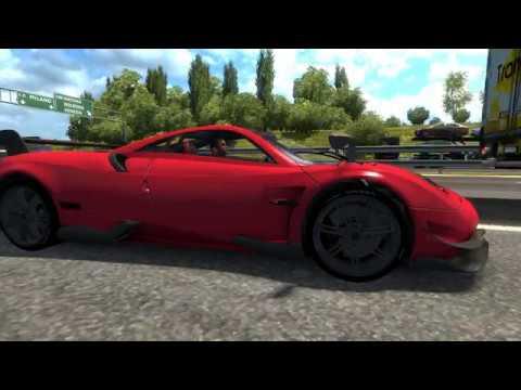 Euro Truck Simulator 2 | Pagani HyuraBC Hız Testi G29