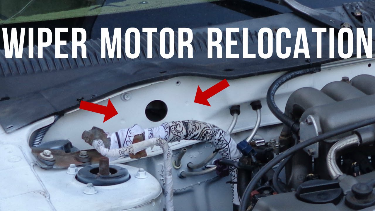 B13 Wiring For Turbo Diagram Libraries Nissan Sentra Wiper Motor Relocation Youtube