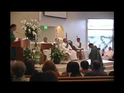 St Callistus Church Mass Celebration, Garden Grove CA.