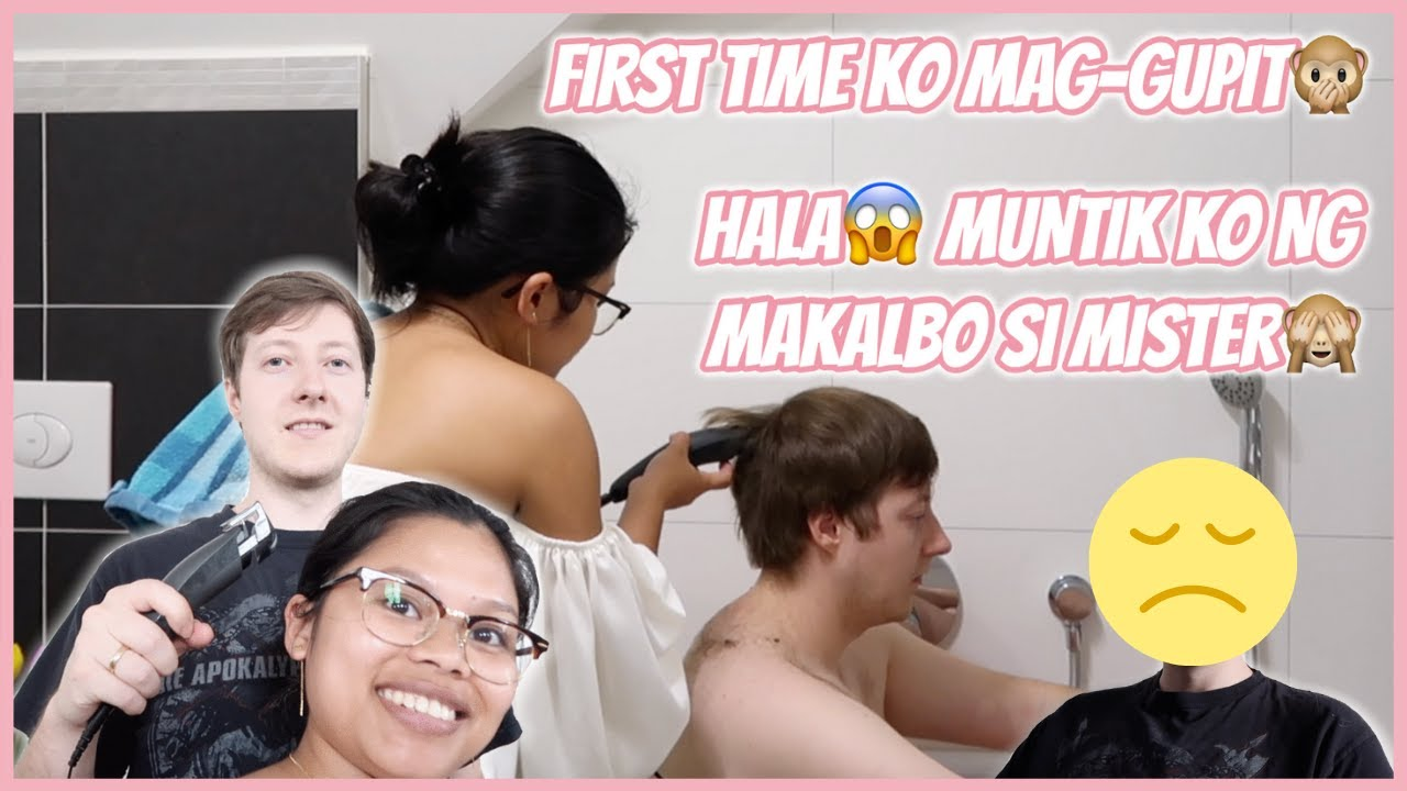I CUT MY HUSBAND'S HAIR FOR THE FIRST TIME🙈 PINAY-GERMAN LIFE IN GERMANY | LIEBE ANN♡