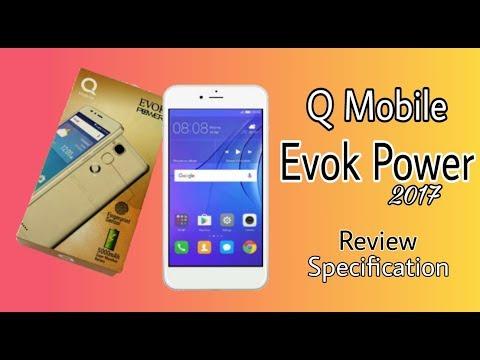 QMobile Evok Power Review, Specification