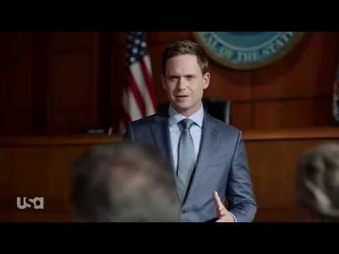 Suits S9 E09 - Mike Vs. Harvey In Trial