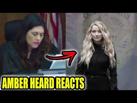 Amber Heard condamnée à la prison *FOOTAGE EN DIRECT*...!?