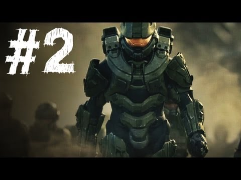 Falling Star Wallpaper Hd Halo 4 Gameplay Walkthrough Part 2 Campaign Mission 2