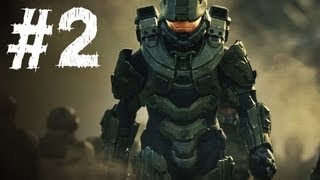 Halo 4 Gameplay Walkthrough Part 2 - Campaign Mission 2 - Requiem (H4)