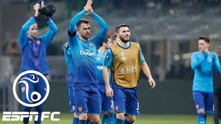 Arsenal snaps losing streak with 2-0 win at AC Milan in Europa League | ESPN FC