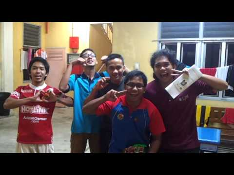 I LOVE UTM (Universiti Teknologi Malaysia) by 1st Year student of Faculty Computer