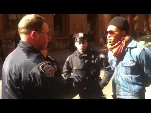 Police brutality on Prince street NYC
