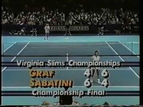 Gabriela Sabatini v Steffi Graf Virginia Slims 1987 pt2
