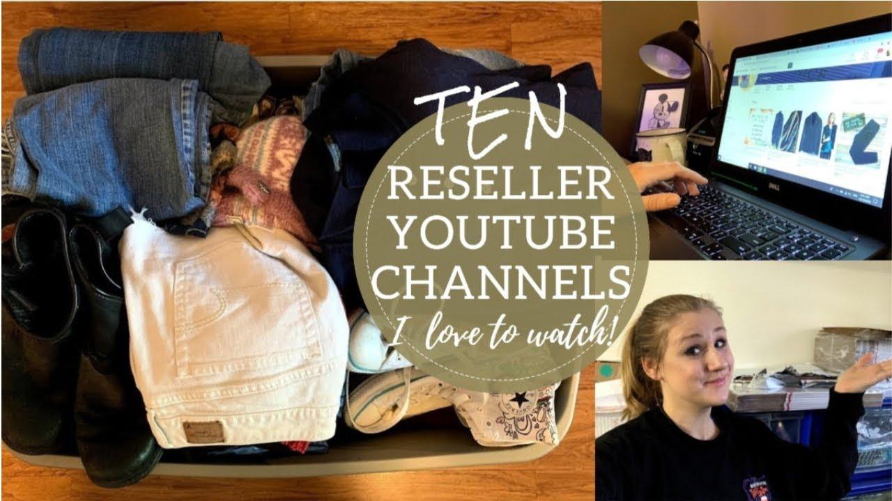 c3d717985 10 Reseller YouTube Channels I LOVE to Watch!   Poshmark Ebay Etsy Online  Seller YouTubers