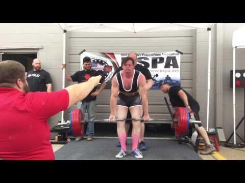 Nebraska State Powerlifting - David Deadlift 600 lbs.