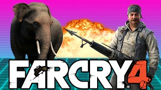 Far Cry 4 w/ Nogla - FLYING ELEPHANTS, GLITCHES, & WINGSUITS (Far Cry 4 Funny Moments)