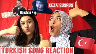 TURKISH SONGS REACTION ! ( Ceza and Oğuzhan Koç) Video