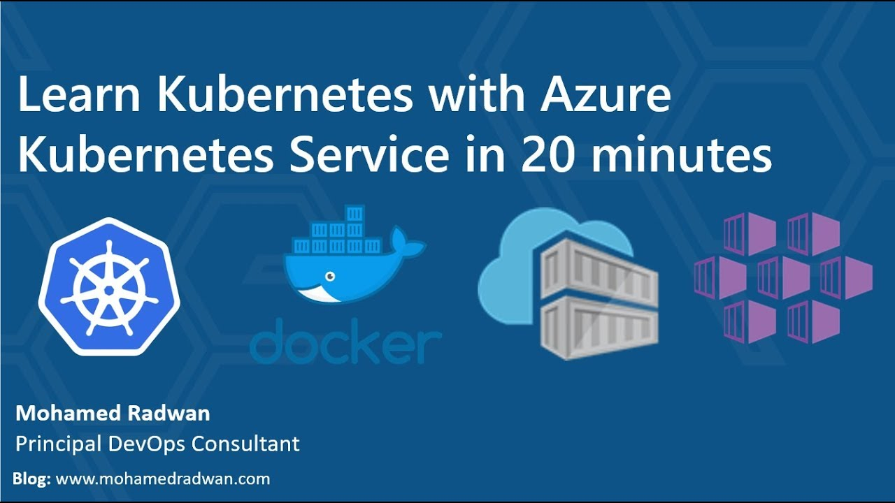 Kubernetes Training with Azure Kubernetes Service | Kubernetes tutorial |  Learn Kubernetes Training