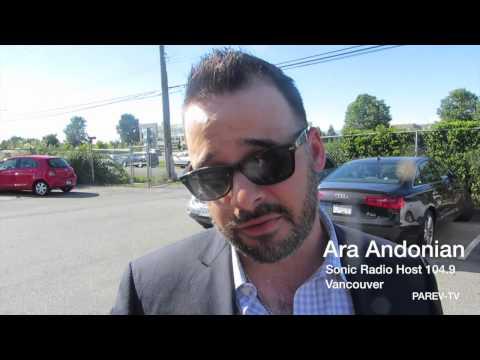 Ara Andonian: Vancouver Radio SONICNATION.CA