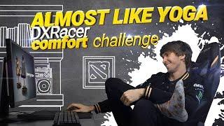 Almost like yoga. DXRacer сomfort challenge