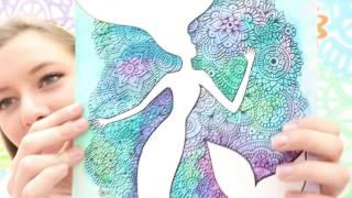 Dibujo con Siluetas y Mandalas! Dani Hoyos Art
