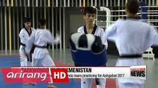 turkmenistan s taekwondo team gearing up for ashgabat 2017