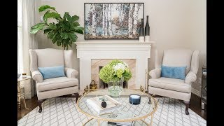 See how this living room went from eyesore to absolutely elegant