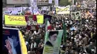 イラン:米大使館占拠31周年の集会