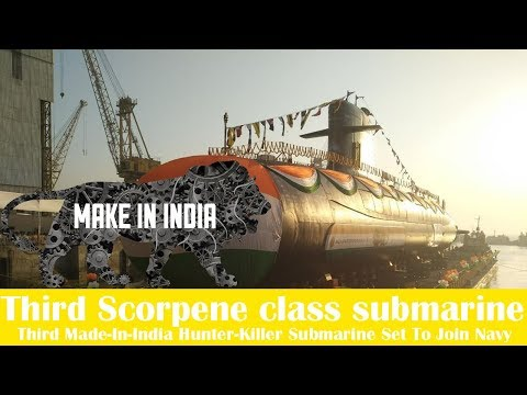 Third Made-In-India Hunter-Killer Submarine Set To Join Navy