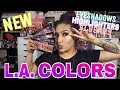 NEW L.A. COLORS SWEET SIXTEEN COLOR EYESHADOW PALETTES & SO CHEEKY BLUSH & HIGHLIGHT PALETTE