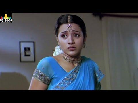 Nuvvostanante Nenoddantana Movie Trisha And Siddharth Scene   Telugu Movie Scenes   Sri Balaji Video