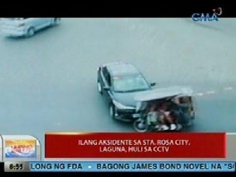 UB: Ilang aksidente sa Sta. Rosa City, Laguna, huli sa CCTV