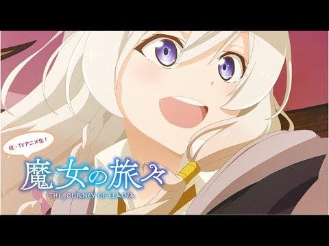 Wandering Witch - The Journey of Elaina Light Novels Get TV Anime