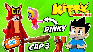 Roblox Kitty CAP 2 en La CASA de MICKEY MOUSE | Roblox Kitty en Español