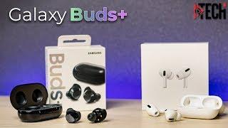 Samsung Galaxy Buds+ 2020 - что нового? Сравнение с AirPods Pro. Полный обзор и опыт использования
