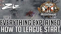 HOW TO LEAGUE START - EVERYTHING EXPLAINED